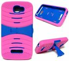 BUILT IN SCREEN PROTECTOR Case For Alcatel One Touch Pop Icon A564C /  Fierce 2