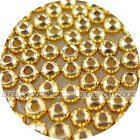 Pick Size / 100 Brass Beads, Fly Tying, Craft / Gold Color