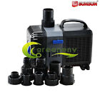 160-4200 GPH ADJUSTABLE SUBMERSIBLE WATER PUMP AQUARIUM POND SUMP 600-16000 L/H