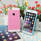 """Bling Glitter Soft TPU Back Case Cover for Apple 5.5"""" iPhone 6 Plus DB-6"""
