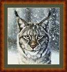 EYES OF THE FOREST  -  CROSS STITCH CHART (DMC THREADS )