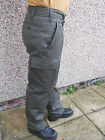 German Army Moleskin Trousers Used Washed Drab Green