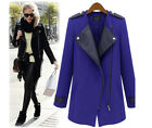 Women's Casual Long Sleeve Jacket Warm Winter Coat Outerwear Parka Overcoat 4-14