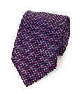 Dots on Dots Microfiber Poly Woven Tie (MPW5405)