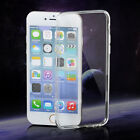 SILICONE SOFT GEL SLIM THIN CLEAR TRANSPARENT COVER CASE FOR iPhone 5 5S 6 6Plus