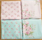 50cm*160cm pink blue Cotton Twill patchwork fabric craft bedding quilt tecidos