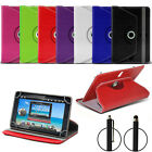 Universal 8 inch Premium Folding PU Leather Stand Case Cover For Tablet + Stylus