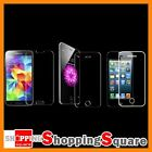 iPhone 6 Plus 5 Tempered Glass Screen Protector Ultra Clear film 5S 5C Galaxy S5