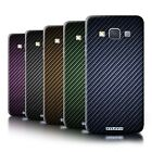 STUFF4 Phone Case/Cover for Samsung Galaxy A3/A300 /Carbon Fibre Effect/Pattern