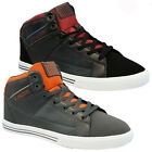 NEW MENS DESIGNER HI TOPS BASKETBALL TRAINERS BOOTS SKATE ANKLE PUMPS SHOES SIZE