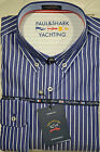 PAUL & SHARK HEMD SHIRT BOTTON DOWN 1328SF  403  slim fit  LINES