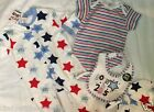 New Best Baby born in 2015 star print 5 piece outfit set