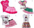 NEW Hello Kitty Top & Skirt / Tutu Scooter Skirt Set- 2T,3T,5,6,S / P-Ori $40