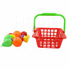 13PC KIDS/TODDLER FOODS SHOPPING BASKET TOYS FOODS GROCERY ROLE PLAY KITCHEN SET