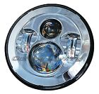 """7"""" Motorcycle Chrome Projector Daymaker HID LED Light Bulb Headlight For Harley"""