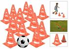 Football Traffic Marking Cones Kids Training Practice Field Boundary Markers