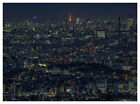 TOKYO JAPAN Tokyo Tower & Cityscape Skyline Poster/Print