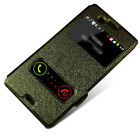 For ZTE Nubia Z7 V5 mini Max S251 Grand S2 Memo 2 PU Leather Window Case Cover