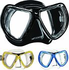 Mares KONA Low Volume Twin Lens Silicone Skirted Diving Snorkeling Mask + Box
