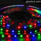 3528 multi color LED strip RGB controller & 9v battery connector red green blue
