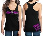 MOTO MOM MX NUMBER PLATE RACERBACK TANK TOP SHIRT JUST RIDE MOTOCROSS