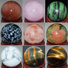 30mm New Natural Gemstone Sphere Crystal Ball Wholesale Lots