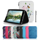 "Universal 7"" Inch EVA Hard Shell Folio Case Cover & Stylus For Selected Tablets"