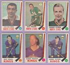 1969-70 , O-PEE-CHEE , Hockey , #'s 127 to 211 , Pick From Drop Down List