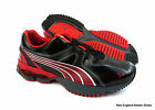 Puma Spyne running shoes sneakers for men - Black / High Risk Red / Silver