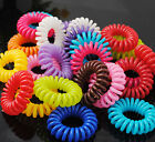 Colorful Elastic Rubber Hair Ties Band Rope Ponytail Holder for Girl Kids