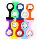 New 10 Colors Nurse Watch Wear On Clothes Pocket Brooch Portable Tunic Fob Kid