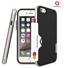 PHONEFOAM Line Smartphone Cases Card Pocket Anti-Shock Cover for iPhone & Galaxy