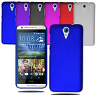 For HTC Desire 620 Slim Hybrid Hard Case Clip On Back Cover & Screen Protector