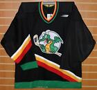 San Antonio Dragons IHL Bauer Authentic On Ice Game Issued Black Hockey Jersey
