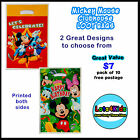 MICKEY MOUSE CLUBHOUSE MINNIE MOUSE LOOT/LOLLY BAGS PARTY SUPPLIES - PACK OF 10