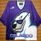 Orlando Solar Bears IHL Bauer Authentic On Ice Game Issued Hockey Jersey
