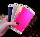 Bling Diamond Crystal Metal Aluminum Hard Case Cover For iPhone 6 & 6 Plus