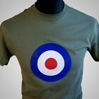 Mod Target Movie Themed Retro T Shirt Quadrophenia Air Force Vintage 60's 70's