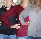 Size UK 10 -24 Ladies Cardigans with Sequin Trim in Wine Black or Grey Marl Plus