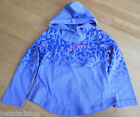Diesel girl hooded purple top size  3 y NEW BN designer