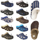 Mens Garden Kitchen Hospital Work Clogs Shoes Slip On Mules Sandals Flip Flops