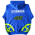 Rossi 46 INSPIRED `FLURO & CARBON` Blue Hoodie  Sizes sm to XXL