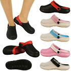 Ladies Garden Clogs Surf Beach Womens Sandal Mules Casual Shoes Size 3 4 5 6 7 8