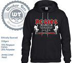 AC/DC Tribute Hoodie.Rosies Gentlemans Club, Whole Lotta Rosie. S-XXL Original