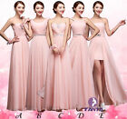 5 Styles Full-Length Wedding Formal Gown Ball Party Cocktail Evening Prom Dress