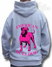 AMERICAN BULLDOG GREY HOODIE All sizes available AMERICAN BULLDOG two tone