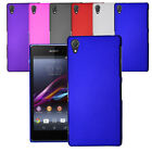 For Sony Xperia Z4 Slim Hybrid Hard Case Clip On Shell Cover & Screen Protector