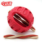 Quality Pet Dog Chew Toy Interactive Feeding Snacks Insert Ball Natural Rubber