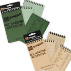 Proforce Snugpak All Weather Notebook Large & Small, New, Free Shipping