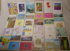 JOB LOT OF ASSORTED BLANK ART GREETING CARDS Thinking of You  12 24 50 100 500